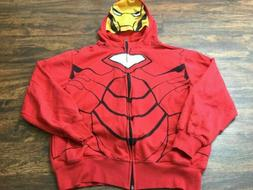 Avengers Iron Man Marvel Comics Red Hoodie by Mad Engine You
