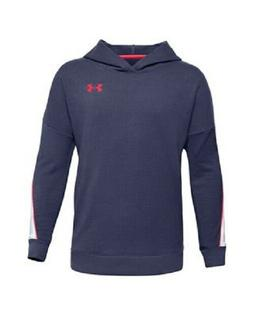 Under Armour Boy's Rival Terry Hoodie Blue XL