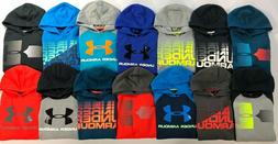 Boy's Youth Under Armour Cotton Pullover Hoodie
