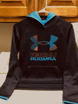 Boys Under Armour Cold Gear Hoodie- Worn Once - Great Color!