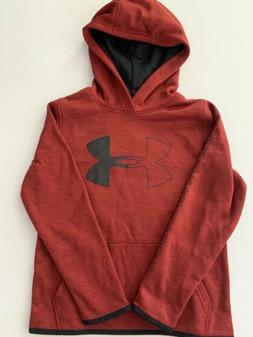 Under Armour Boys Hoodie Size Small Large 8 14 Logo ColdGear