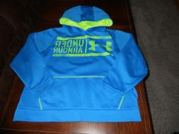 Under Armour boys hoodie size Y L youth large loose fit