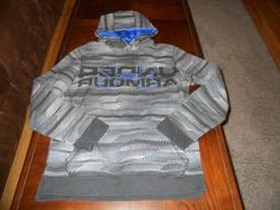 Under Armour boys hoodie size Y L youth large sweat shirt lo