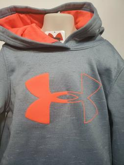 Boys Kids Youth UNDER ARMOUR Pullover Hoodie NEW Medium Stee