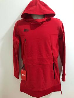 The North Face Boys Red Sz XL Tekno Flash Dry Pullover Hoodi