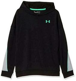 Under Armour Boys' Rival Terry Hoodie, Black, Size Youth X-L
