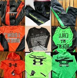 UNDER ARMOUR BOYS ~ Size 4 Track Pants ~ Size 5 Hoodies ~WIN