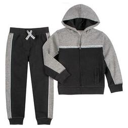 Calvin Klein Boys' Toddler 2 Pieces Hoodie jacket and Jogger