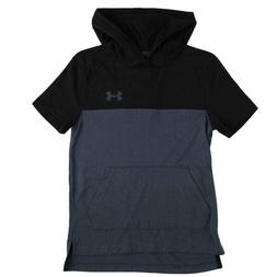 Under Armour Boys Youth 8-20 Hooded Color Block Tee
