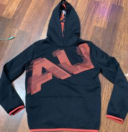 Boys Youth Under Armour Cold Gear Loose Fit Pullover Hoodie
