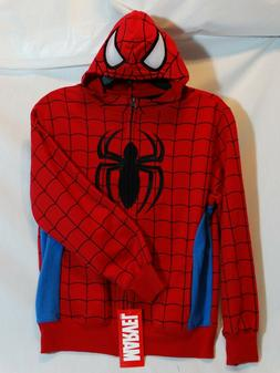 MARVEL CHARACTER MASK HOODIE SPIDER-MAN KIDS L10/12 XL14/16