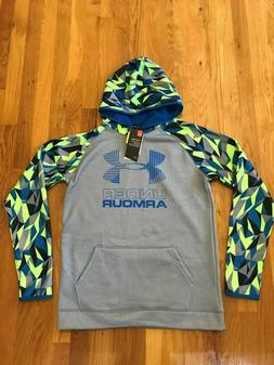 Under Armour Coldgear Youth Boys Water-Resistant/Pullover Ho