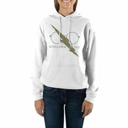 """Harry Potter """"The Boy Who Lived"""" White Hoodie Sweatshirt"""