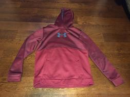 Under Armour Hoodie Maroon/Black/Gray Size Youth XL Loose