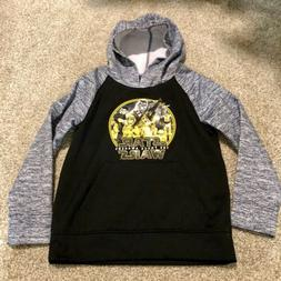 """Star Wars Hoodie Youth Small """"The Force Awakens"""" Black G"""
