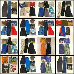 Huge Lot Boys Small Clothes 5T 5 Childrens Kids Tops Pants S