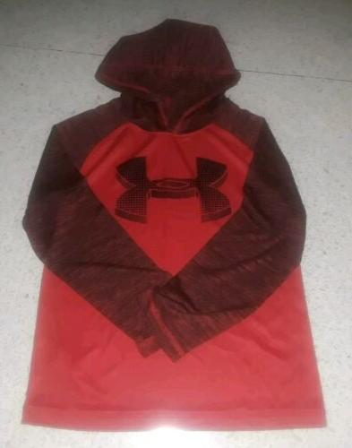 nwt boys risk red lightweight pullover hoodie