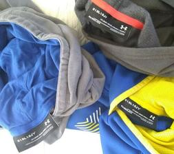 Lot of 3,Boys Under Armour 2 Cold Gear Hoodie, 1 Loose  YLG,