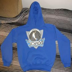 Luka Doncic Hoodie Size Youth Large, Blue/White
