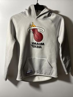 MIAMI HEAT UNDER ARMOUR YOUTH LONG SLEEVE HOODIE SIZE LARGE