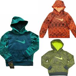 NWT NIKE Therma-Fit Boys Printed Pullover Hoodie SELECT SIZE