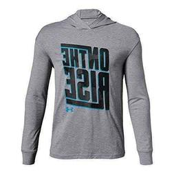 Under Armour On The Rise athletic hoodie shirt NWT boys' L Y