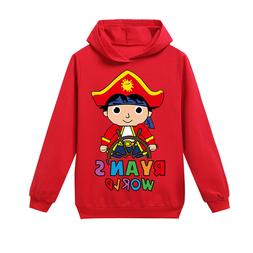 Ryan Toys Review Boys Fashion Casual Outdoor Sports Hoodie T