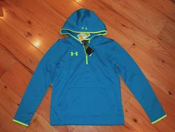 Under Armour Storm novelty 1/4 zip hoodie NWT boys' L YLG cr