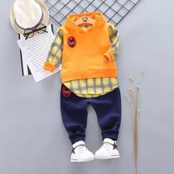 Toddler Baby Boys Outfits Set Tops + Trousers Clothing Infan
