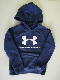 Under Armour Boy's Rival Logo Hoodie NWT 2020